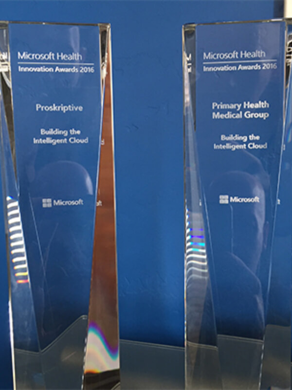 National Recognition Award for Primary Health & Proskriptive