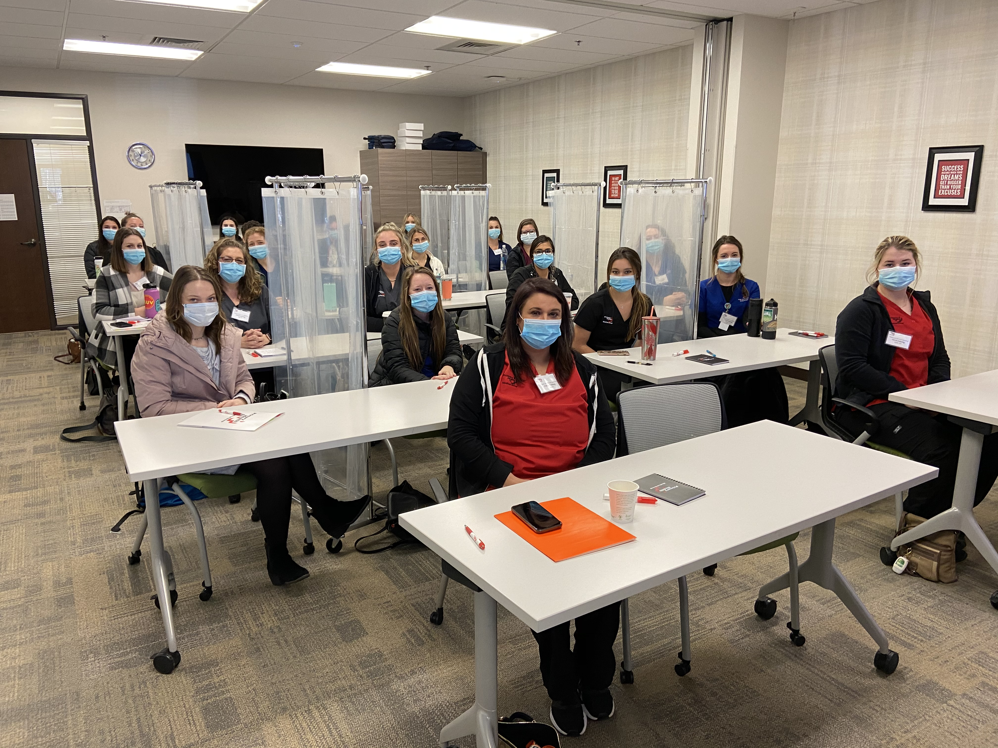 Student RNs Join Training Class at Primary Health